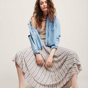 Free People Good on You Wrap Midi Skirt